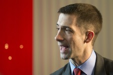 -                FILE - In this March 14, 2013, file photo Arkansas Republican Rep. Tom Cotton attends the 40th annual Conservative Political Action Conference in National Harbor, Md.  A  person familia