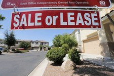 -                FILE - In this Tuesday, July 30, 2013, file photo, A home is seen for sale Tuesday, July 30, 2013 in Gilbert, Ariz. _ Freddie Mac reports on mortgage rates for the last week of July on