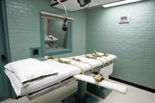 -                File - The gurney in the death chamber is shown in this May 27, 2008 file photo from Huntsville, Texas. Texas Department of Criminal Justice officials say their remaining supply of pent
