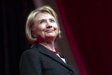 -                FILE - This July 16, 2013 file photo shows former Secretary of State Hillary Rodham Clinton during the 51st Delta Sigma Theta National Convention in Washington. The Republican National