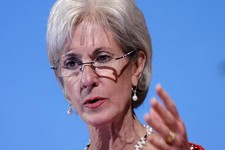 -                FILE - In this May 15, 2012 file photo, Health and Human Services Secretary Kathleen Sebelius speaks in Bethesda, Md. The legal challenges over religious freedom and  the birth control