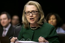 -                FILE - In this Jan. 23, 2013, file photo, Secretary of State Hillary Rodham Clinton testifies on Capitol Hill in Washington, on the deadly September attack on the U.S. diplomatic missio