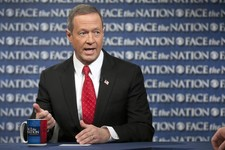 "-                In this Sunday, Feb. 24, 2013, photo, provided by CBS News, Democratic Gov. Martin O'Malley of Maryland speaks on CBS's ""Face the Nation"" in Washington. O'Malley joined with with Republ"
