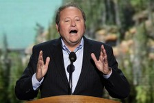 -                FILE - In this Sept. 6, 2012, file photo, then-Montana Gov. Brian Schweitzer addresses the Democratic National Convention in Charlotte, N.C. In February 2013, the former governor is par