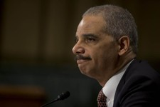"-                Attorney General Eric Holder pauses as he testifies on Capitol Hill in Washington, Wednesday, March 6, 2013, before the Senate Judiciary Committee hearing: ""Oversight of the U.S. Depart"