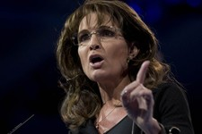 -                Former Alaska Gov. Sarah Palin speaks at the 40th annual Conservative Political Action Conference in National Harbor, Md., Saturday, March 16, 2013. Diehard activists at the three-day c