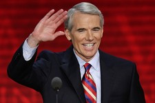 -                FILE - In this Aug. 29, 2012, file photo, Sen. Rob Portman, R-Ohio, waves to the delegates during the Republican National Convention in Tampa, Fla. Portman said Thursday, March 14, 2013