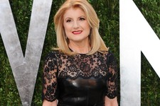 -                FILE - This Feb. 24, 2013 file photo shows Arianna Huffington arrives at the 2013 Vanity Fair Oscars Viewing and After Partyl in West Hollywood, Calif. A lawsuit accuses Huffington Post