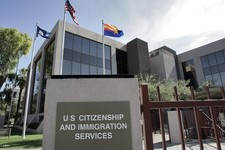 -                FILE – This Aug. 5, 2008, file photo, shows the U.S. Citizenship and Immigration Services building Phoenix. The Homeland Security Department expects applications for high-skilled immigr