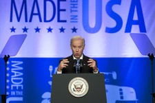 -                Vice President Joe Biden speaks at the 2013 Annual Conference of the Export-Import Bank in Washington, Friday, April 5, 2013. (AP Photo/Manuel Balce Ceneta)