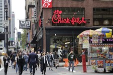 Poultry vs. Pinhead: New York City's Mayor says Boycott Chick-fil-A