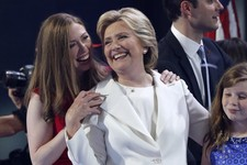 Who's Your Mommy? Hillary Clinton at DNC