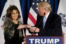 "Family Feud: Sarah Palin Warns Trump Against ""Wishy-Washy"" Immigration Stance"