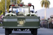 Ha: Fidel Castro's Funeral Vehicle Broke Down Mid-Procession