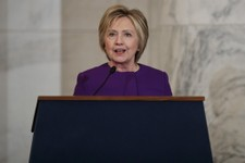 Clinton: Fake News Is A Threat That Must Be Addressed