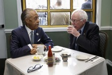 Bernie Sanders Meets With Al Sharpton And This Tweet Sums It Up Perfectly