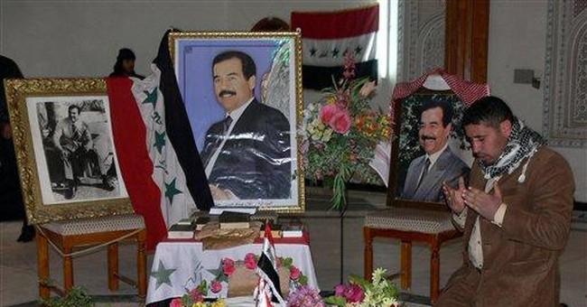 Saddam's just deserts