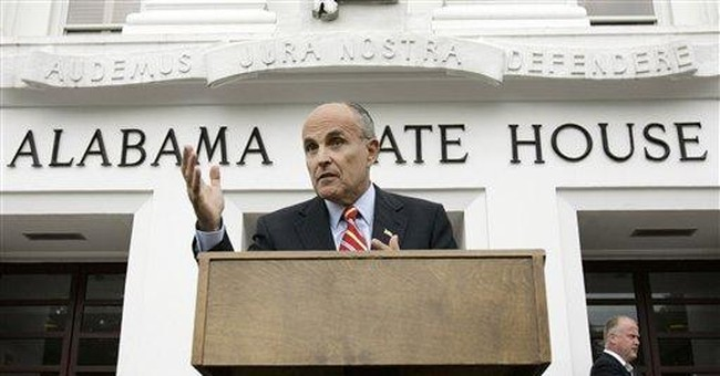 Rudy to pro-lifer: drop dead