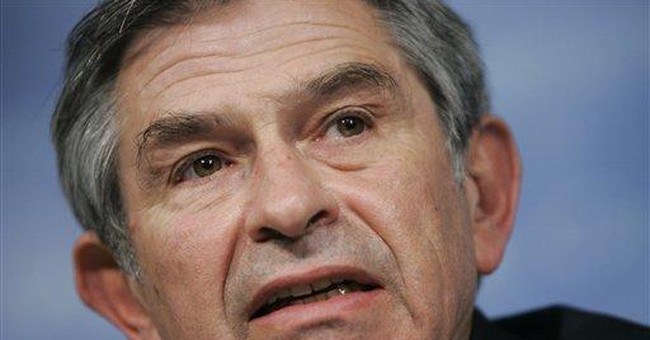 Wolfowitz & The World Bank
