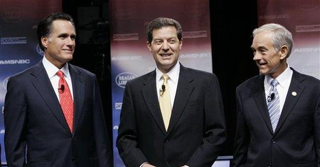 The GOP Presidential Non-Debate: Some Observations