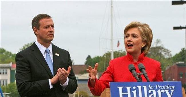 Hillary Up, Obama Down
