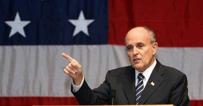 Fort Dix terror plot will life Rudy Giuliani's approval rating
