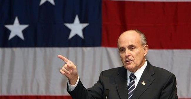 Rudy's Party -- or Reagan's?