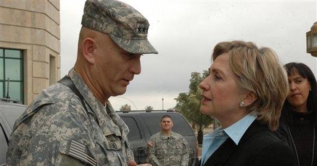 Hillary Hits A Speed Bump