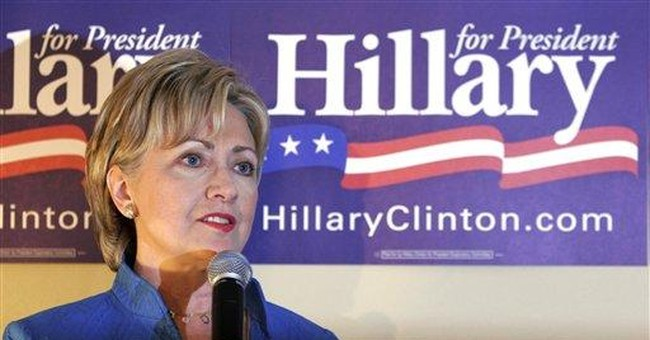 Hillary's Middle Class Vanishing Act