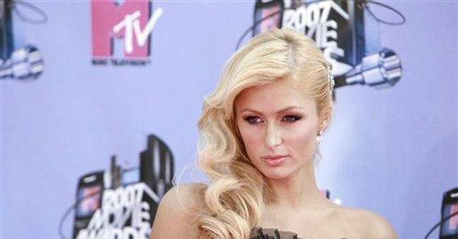 Return to Liberal La-La Land -- the Paris Hilton Edition