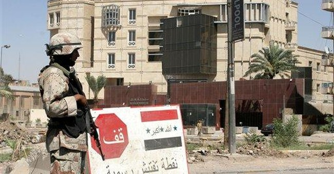 How Bush Can Save Iraq