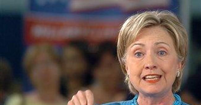 Hillary's Late Hit