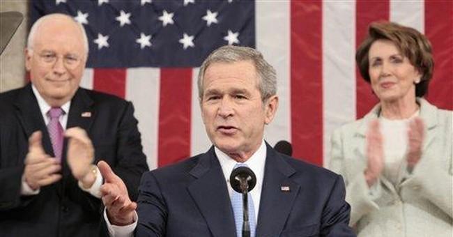 Can Bush learn from Schwarzenegger?