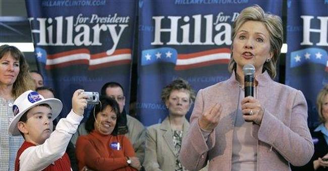 Hillary is no Bill