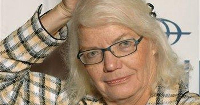 Molly Ivins then and now