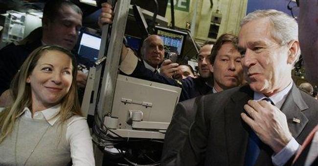 'The Bush rally' thrills Wall Street