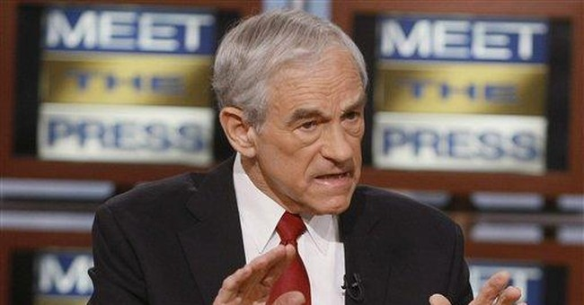 Would Reagan Vote for Ron Paul?