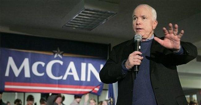 John McCain busts a move