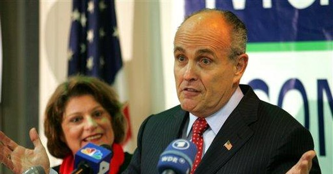 Rudy Giuliani Tries to Split the Difference on Abortion