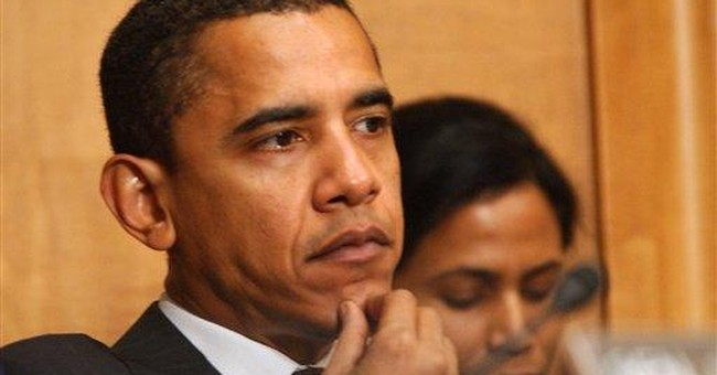 Obama runs on Obama
