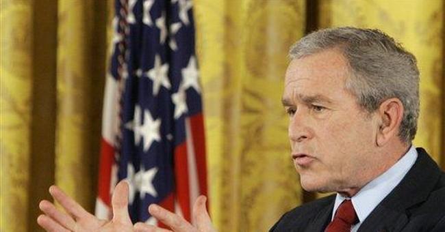President Bush misunderestimated