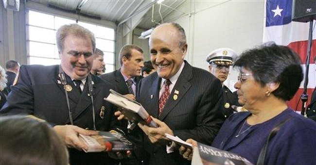 It's Giuliani's Nomination To Lose