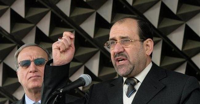 The McCain-Maliki calculation