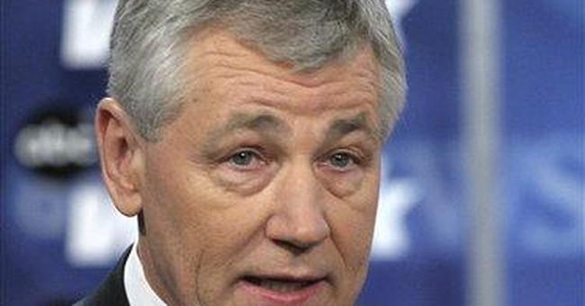 Senator Hagel, Portrait of Confusion