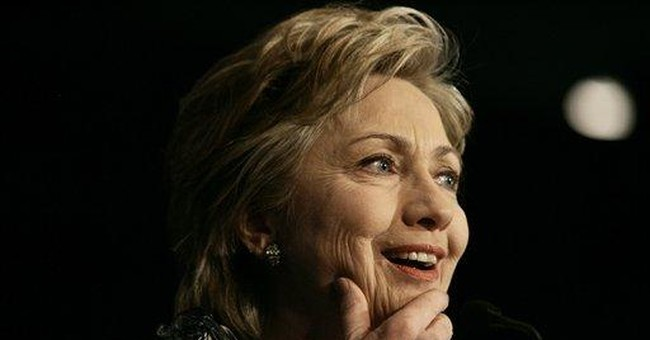 Hillary's star appeal fading