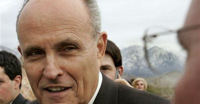 Is this Rudy's time?