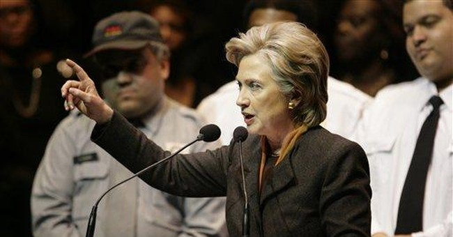Hillary Gets 56 Percent Versus Uncommitted