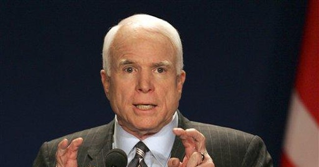 McCain Courts Hispanic Vote