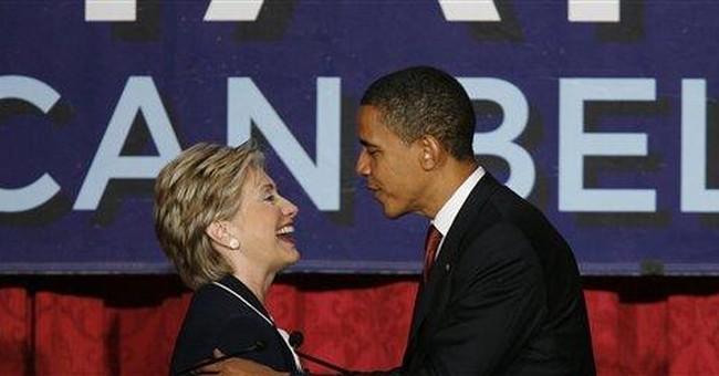 Hillary's Growing Shadow
