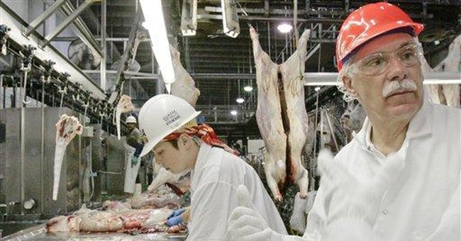 USDA proposes streamlining poultry inspections